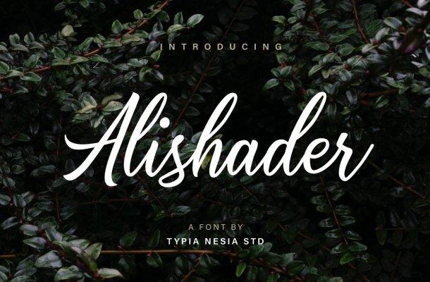 Alishader Script Font