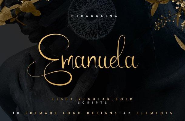 Emanuela Typeface