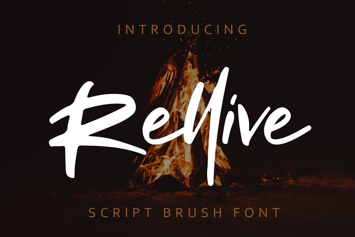 Rellive-Font