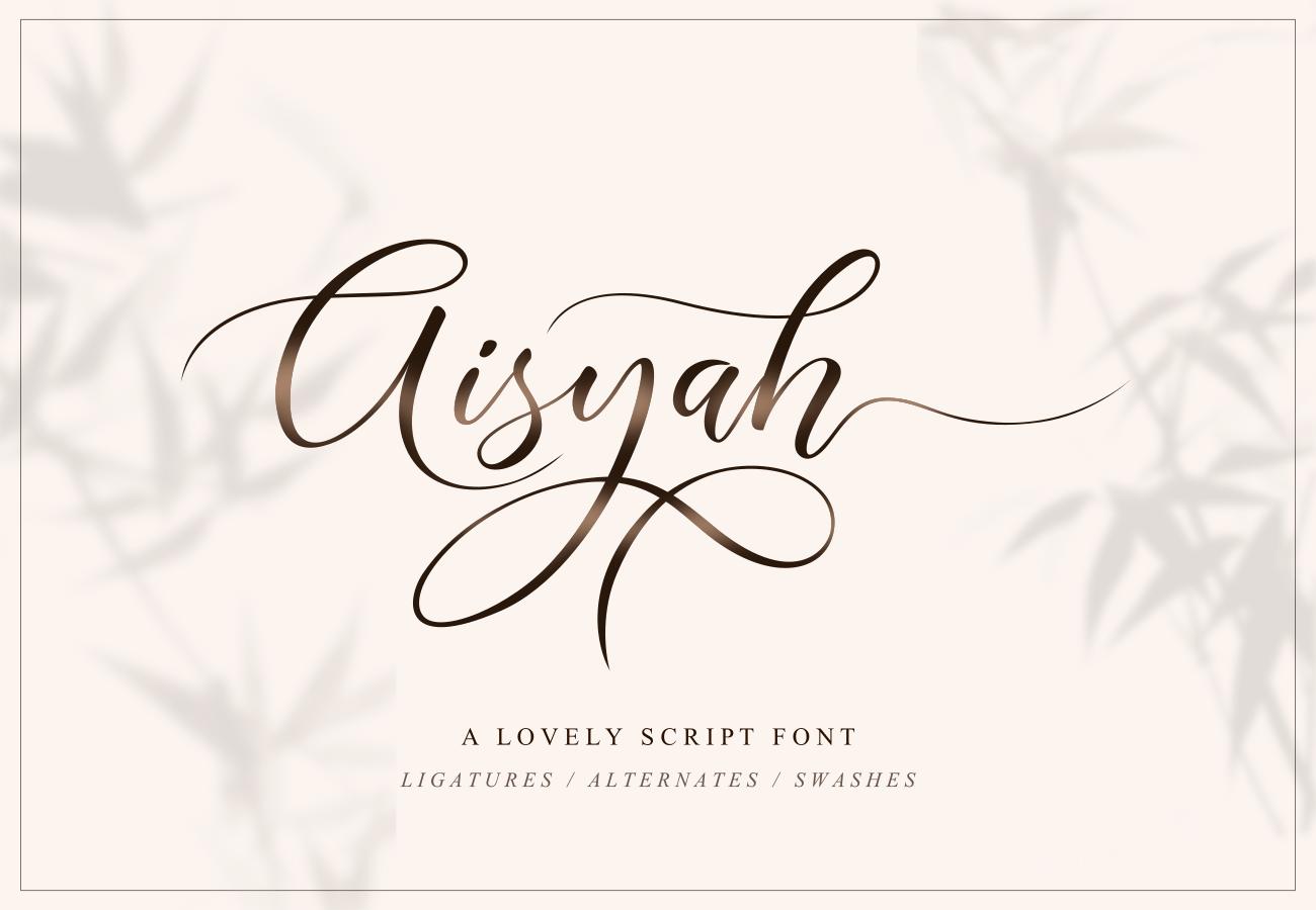 Aisyah-Font