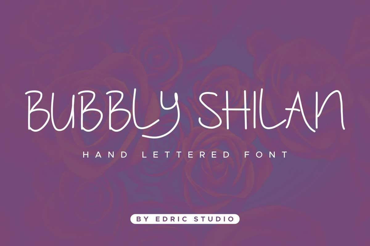 Bubbly-Shilan-Font