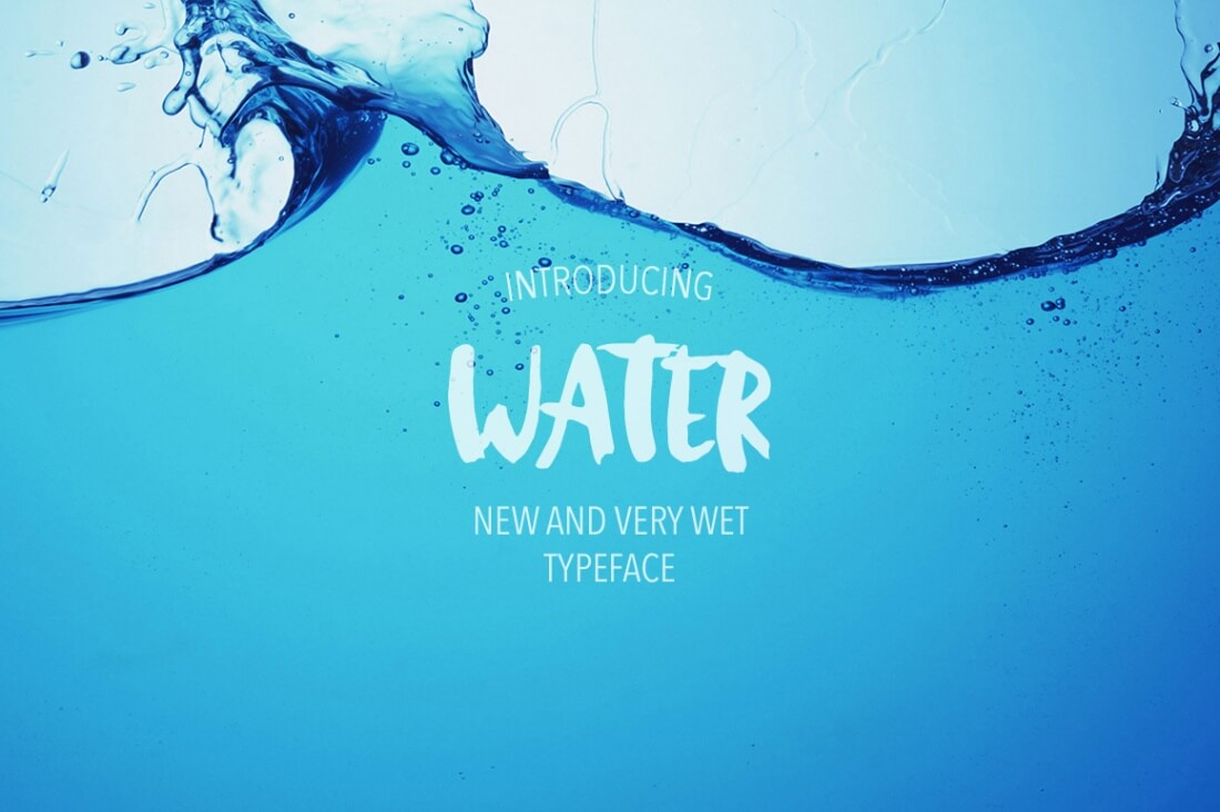 Water-Font