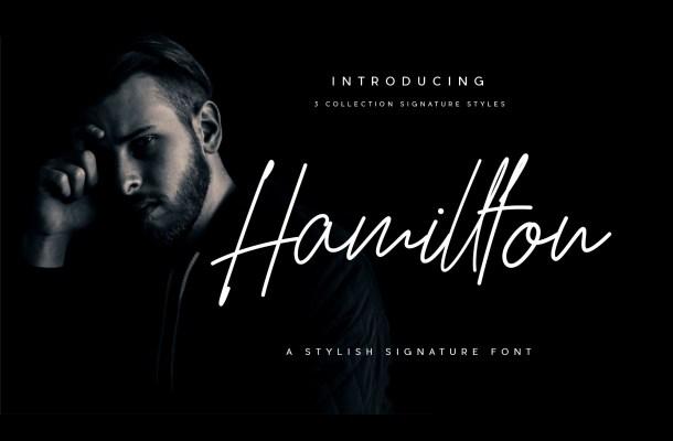 Hamillton Signature Font