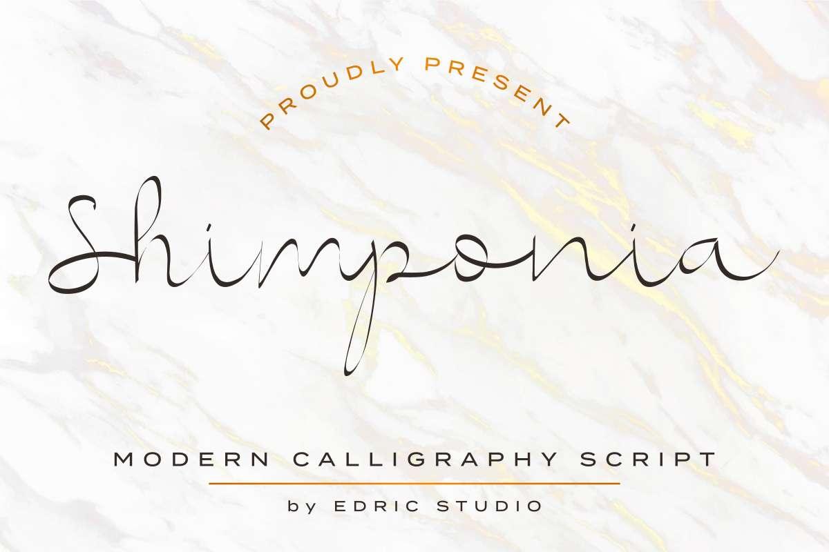 Shimponia-Font