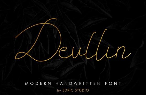 Devllin Handwritting Font