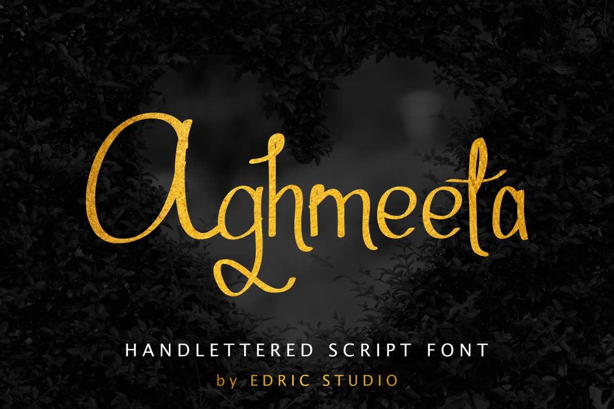 Aghmeeta-Font