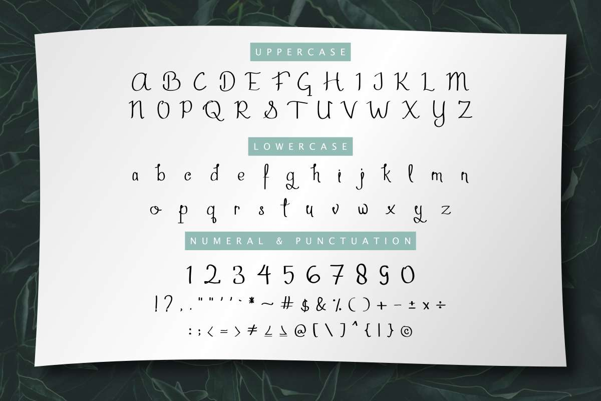 Aghmeeta-Font-3
