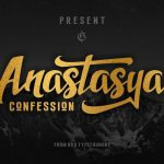 Anastasya Confession Font
