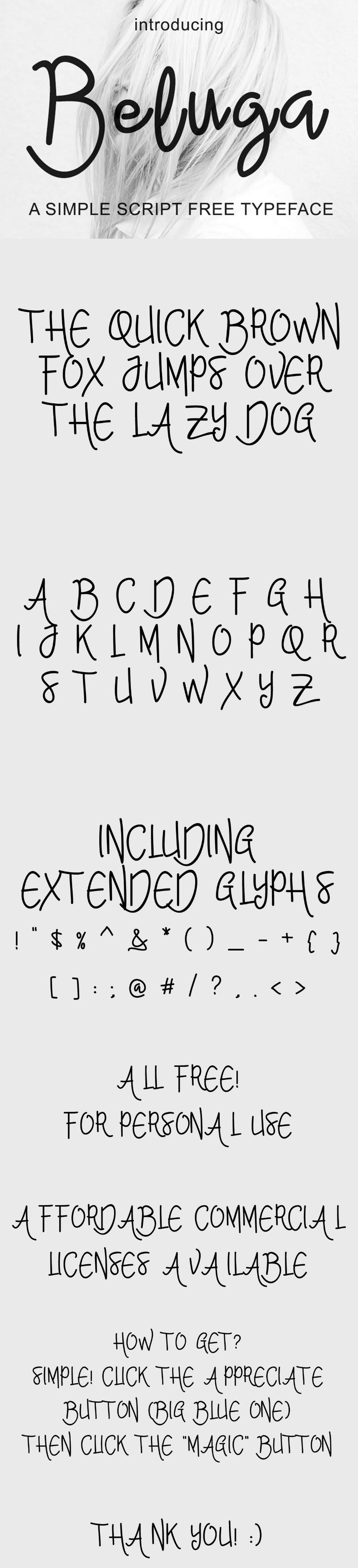 beluga-script-font