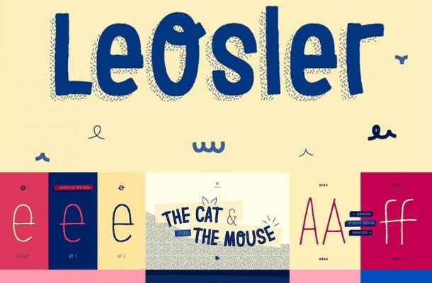 LeOsler Font Family