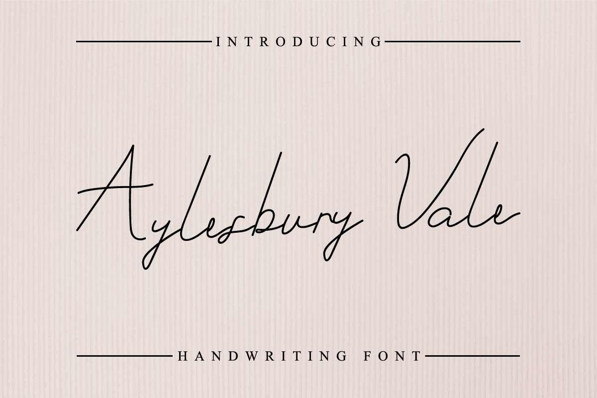 Aylesbury-Vale-Font