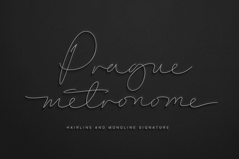 Prague-Metronome-Font