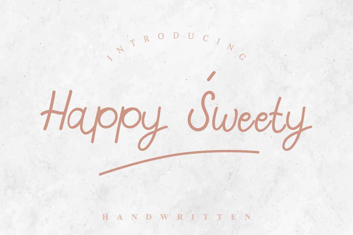 Happy-Sweety-Font