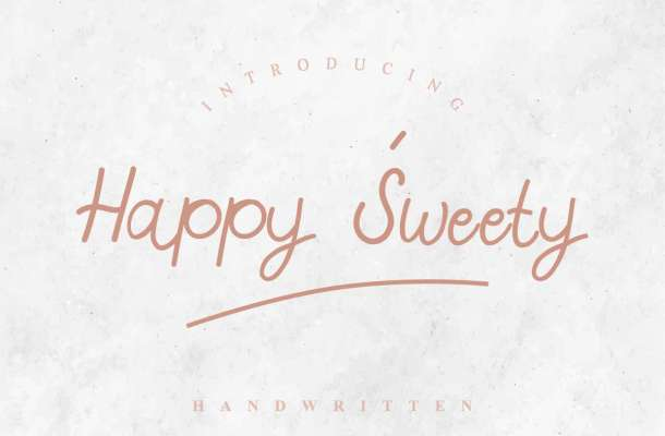 Happy Sweety Font