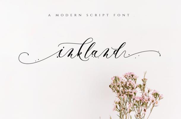 Inkland Script Font