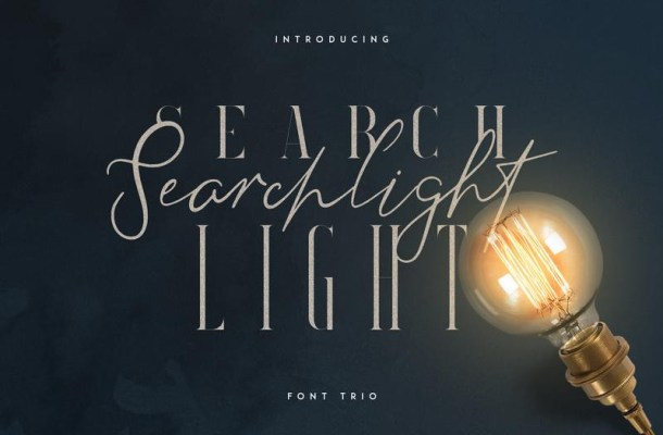 Searchlight Fonts – Free Demo