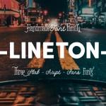 Lineton Font Family