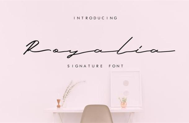 Royalia Signature Font