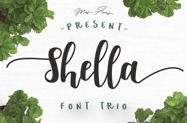 Shella Script Font