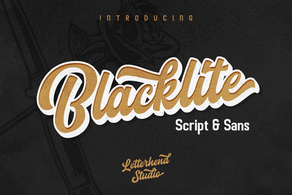 Blacklite-Font