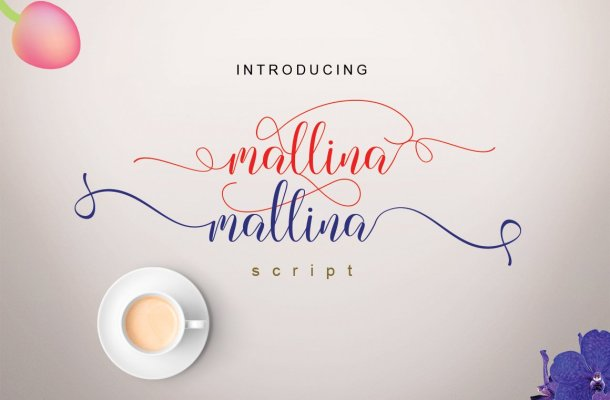 Mallina Script Font