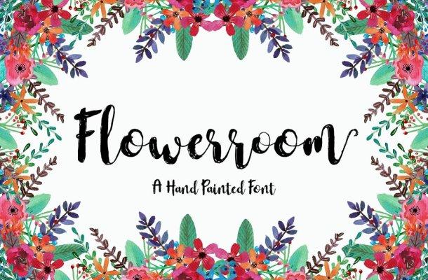 Flowerroom Script Font