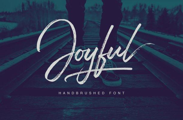 Joyful Script Font