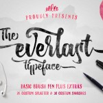 The Everlast Typeface