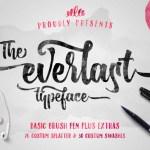 The Everlast Typeface