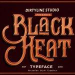 Black Heat Font