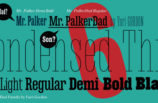 Mr Palker Dad Font Family