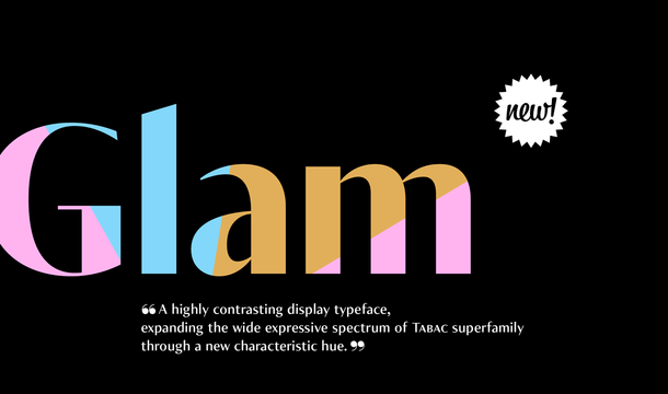 Tabac Glam Font Family