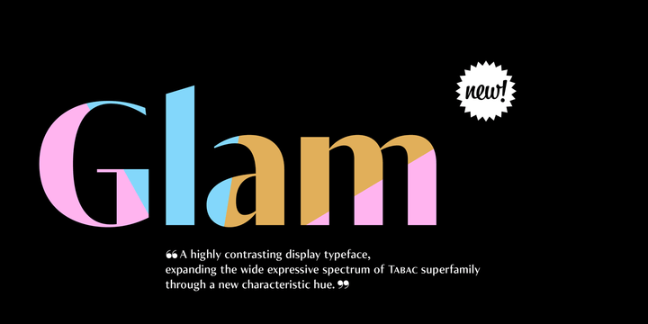 Tabac-Glam-Font