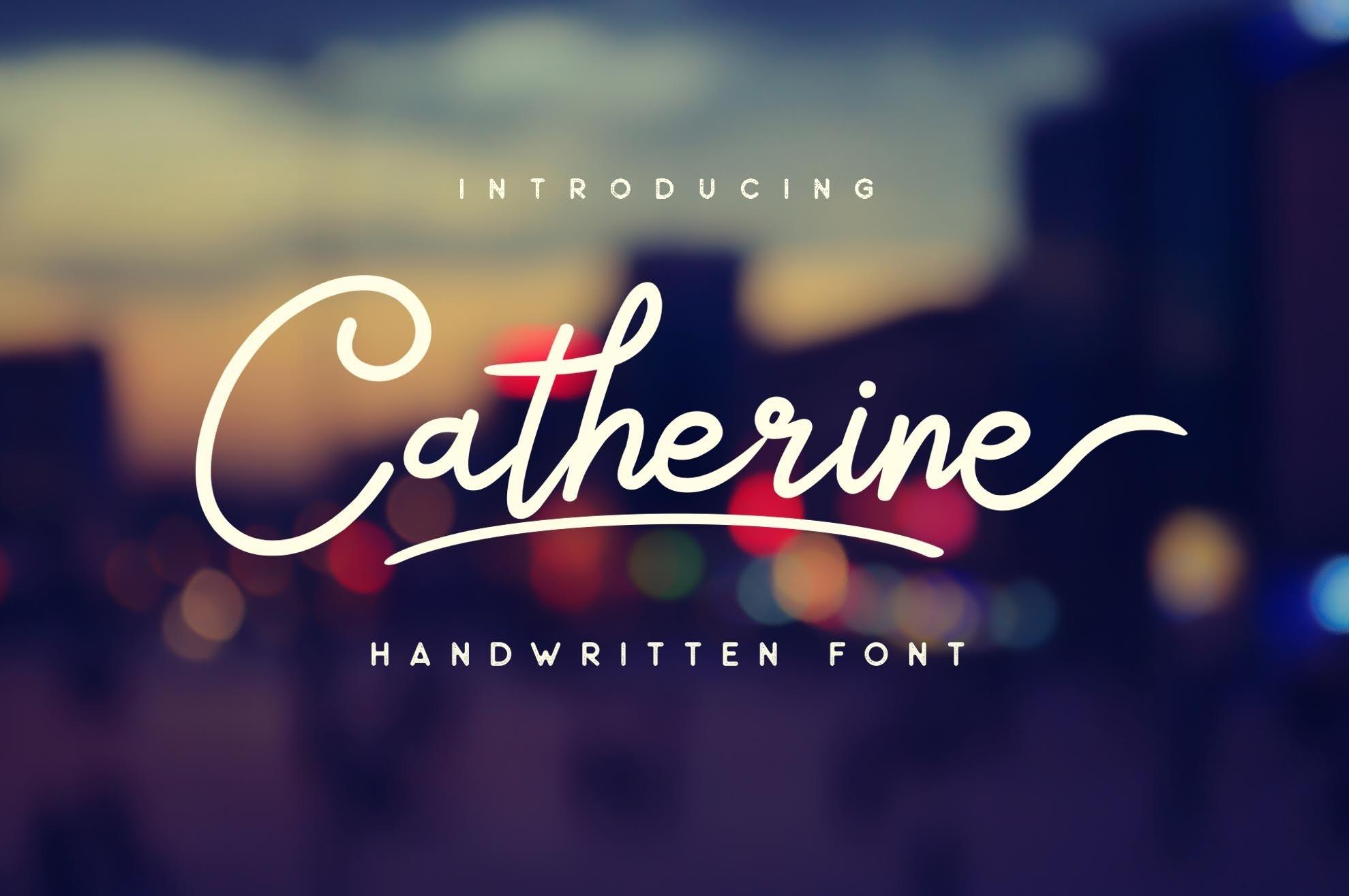 Catherine-Font