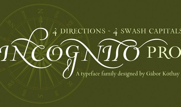 Incognito Pro Font Family