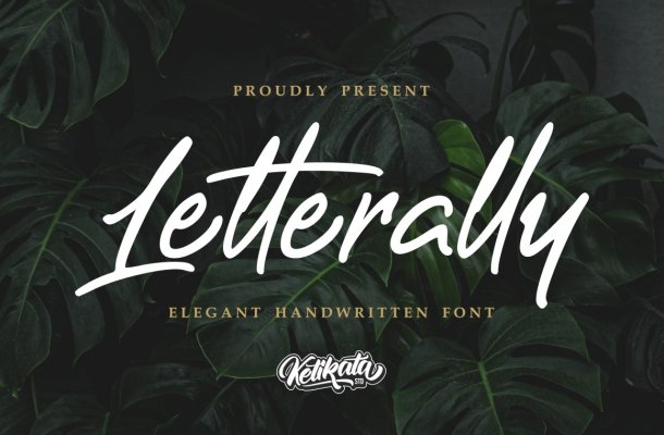 Letterally Script Font