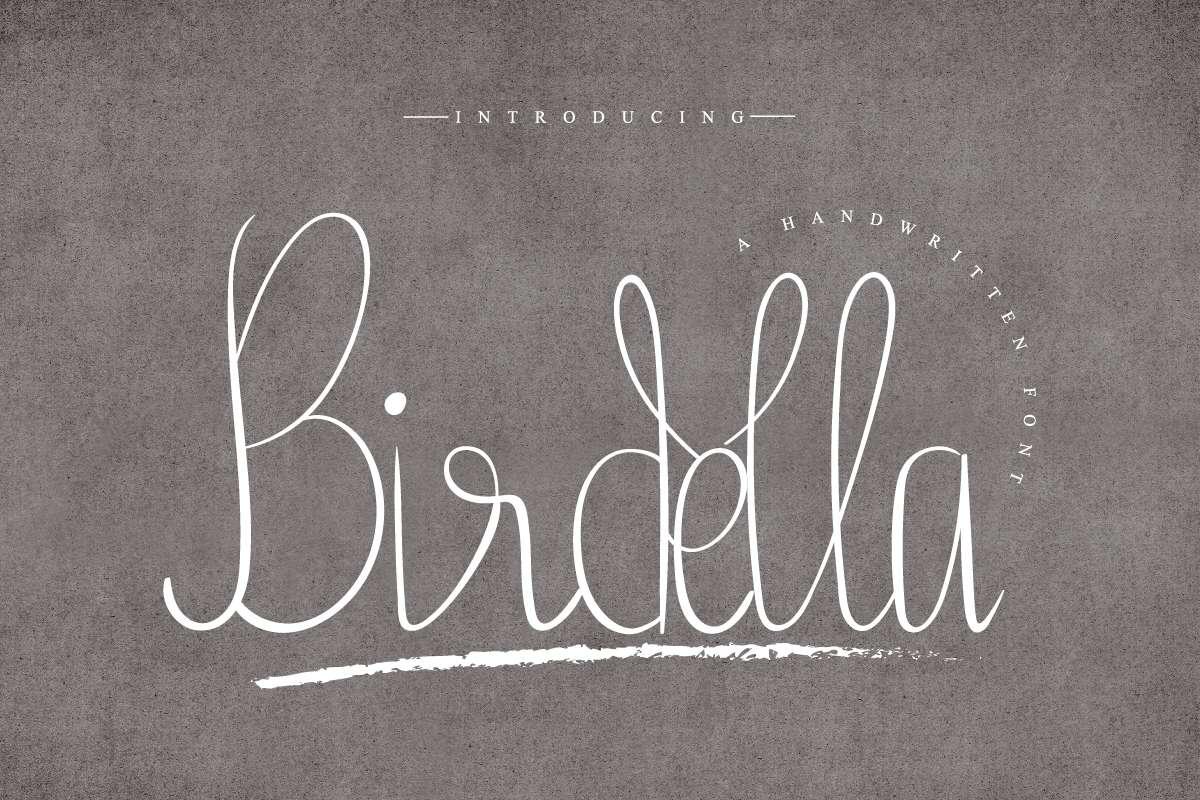 Birdella-Font