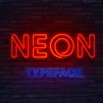 Neon Display Font