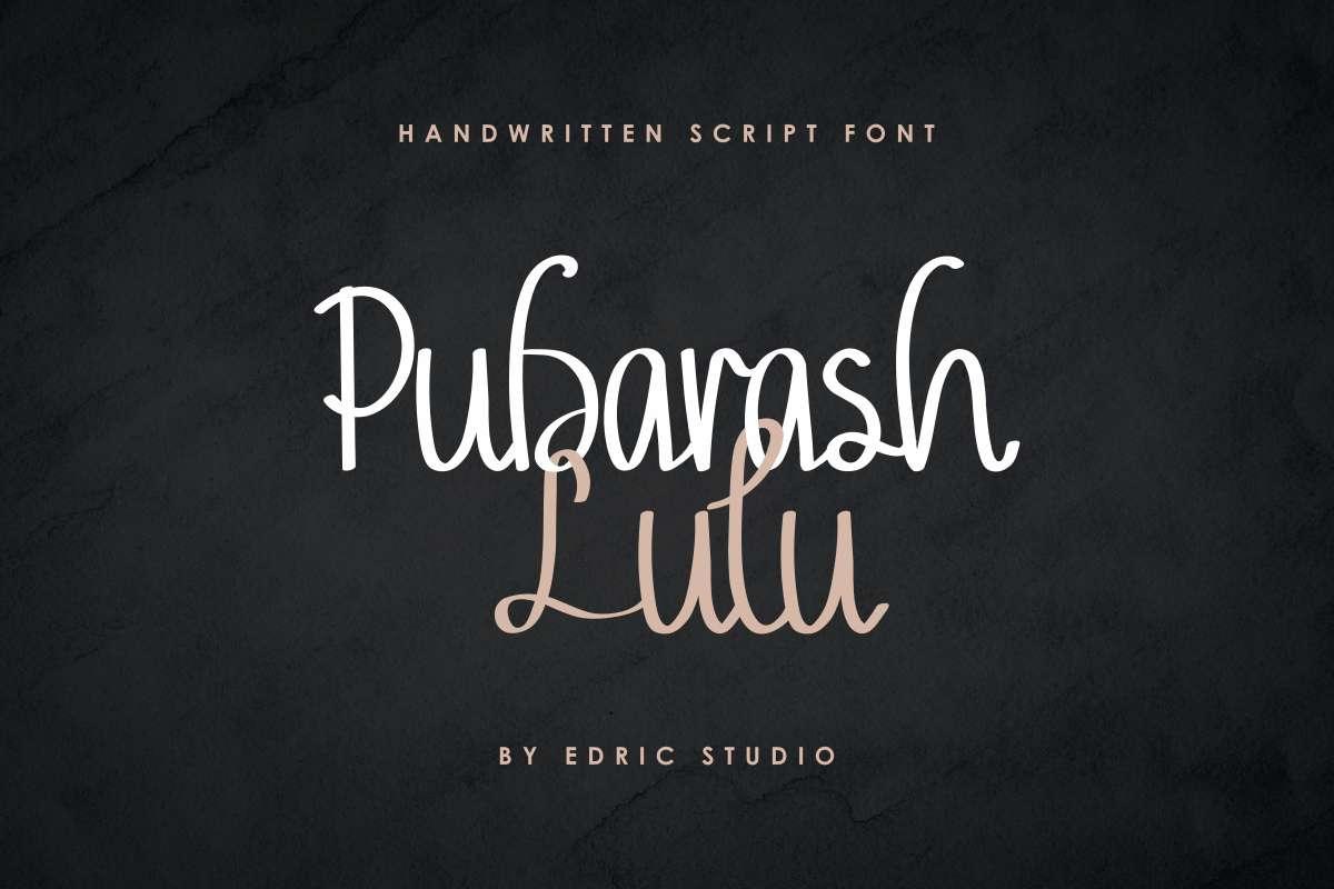 Pubarash-Lulu-Font