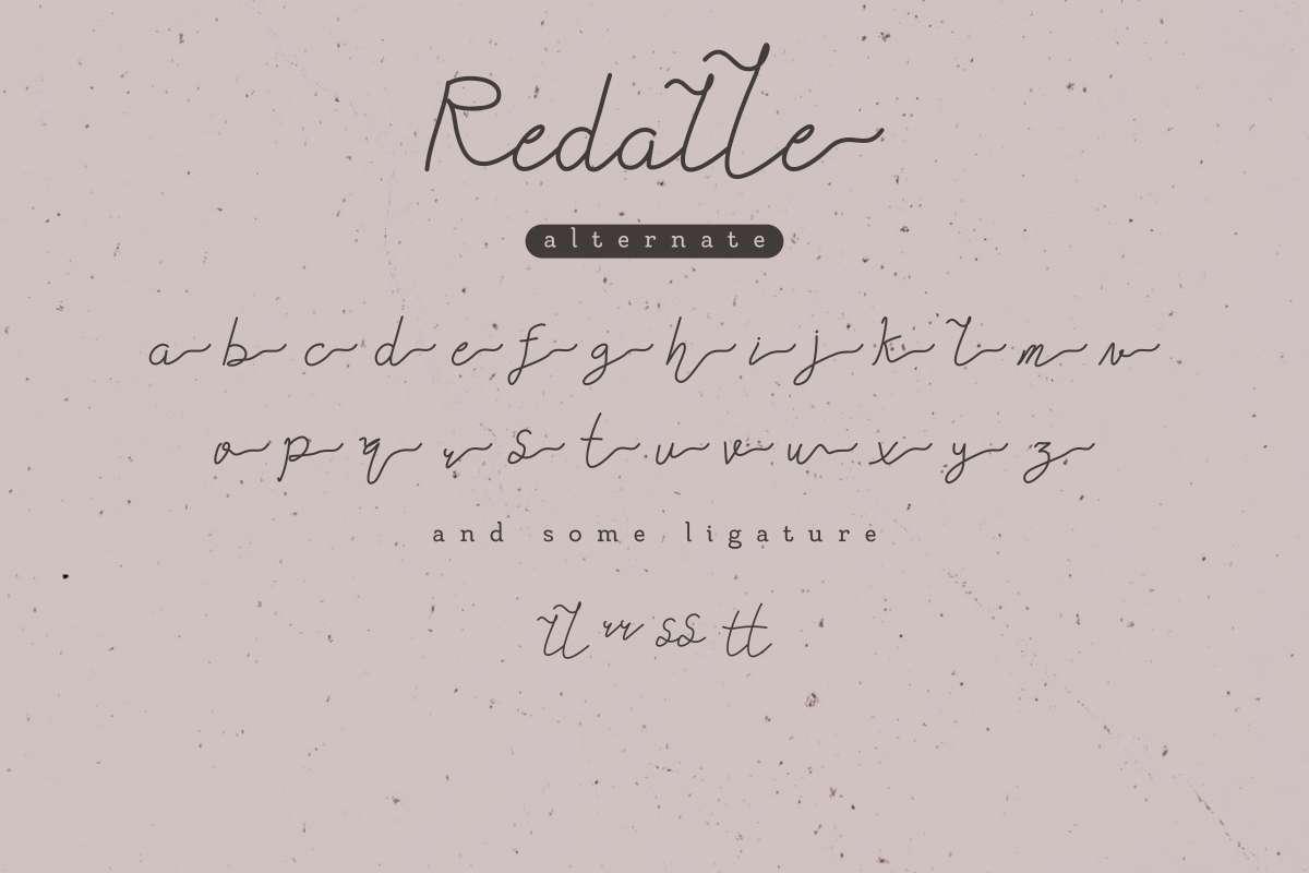 Redalle-Handlettered-Font-3