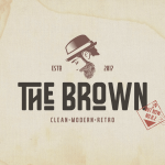The Brown Font