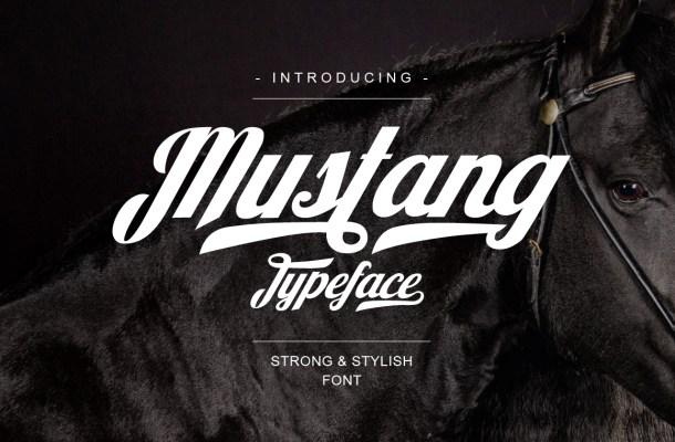 Mustang-Font