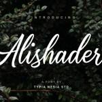 Alishader Font