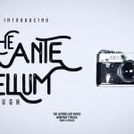Antebellum Typeface