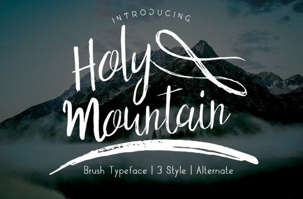 Holy Mountain Font Family