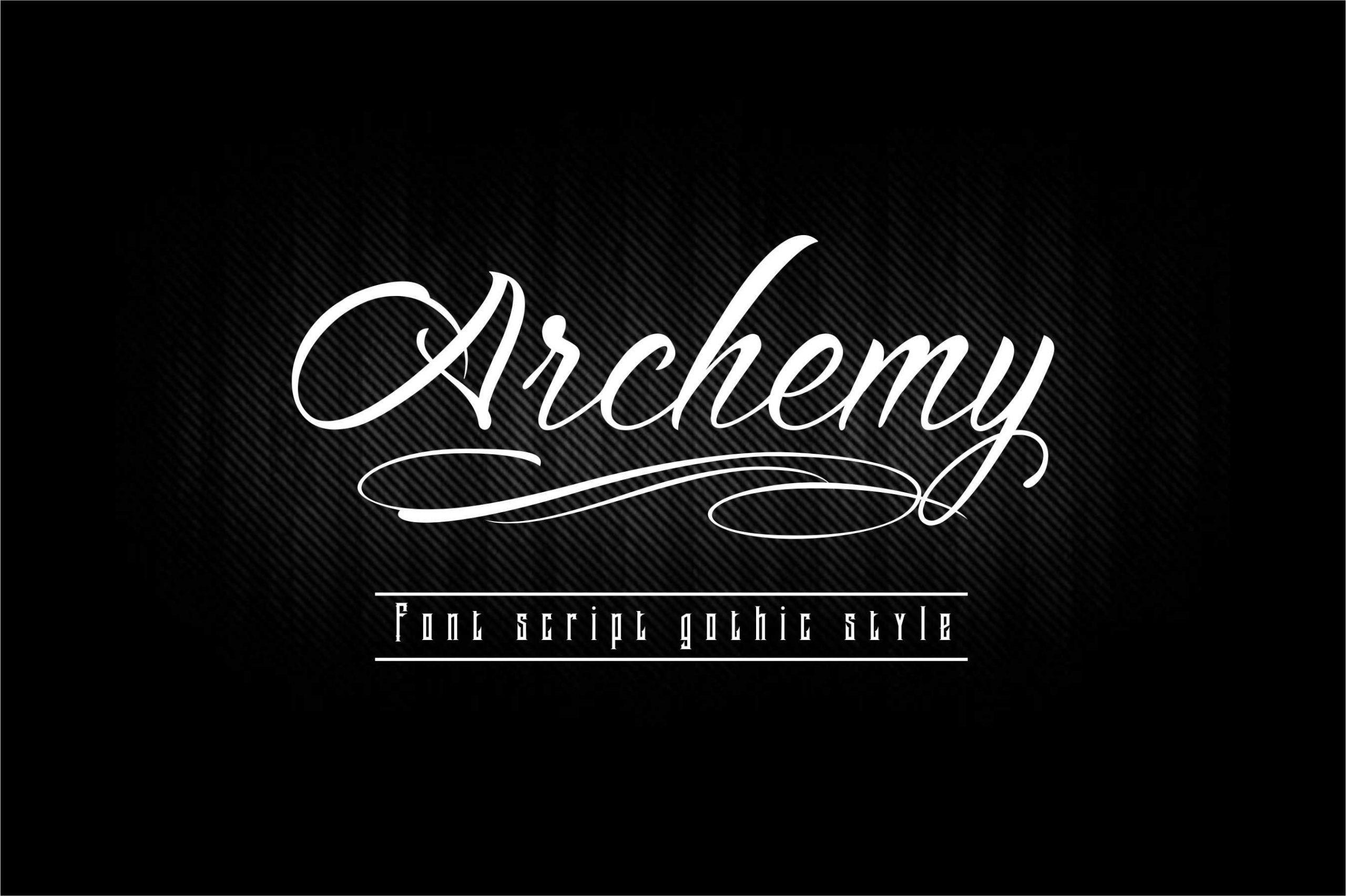 Archemy-Font
