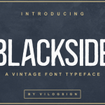 Blackside Font Family