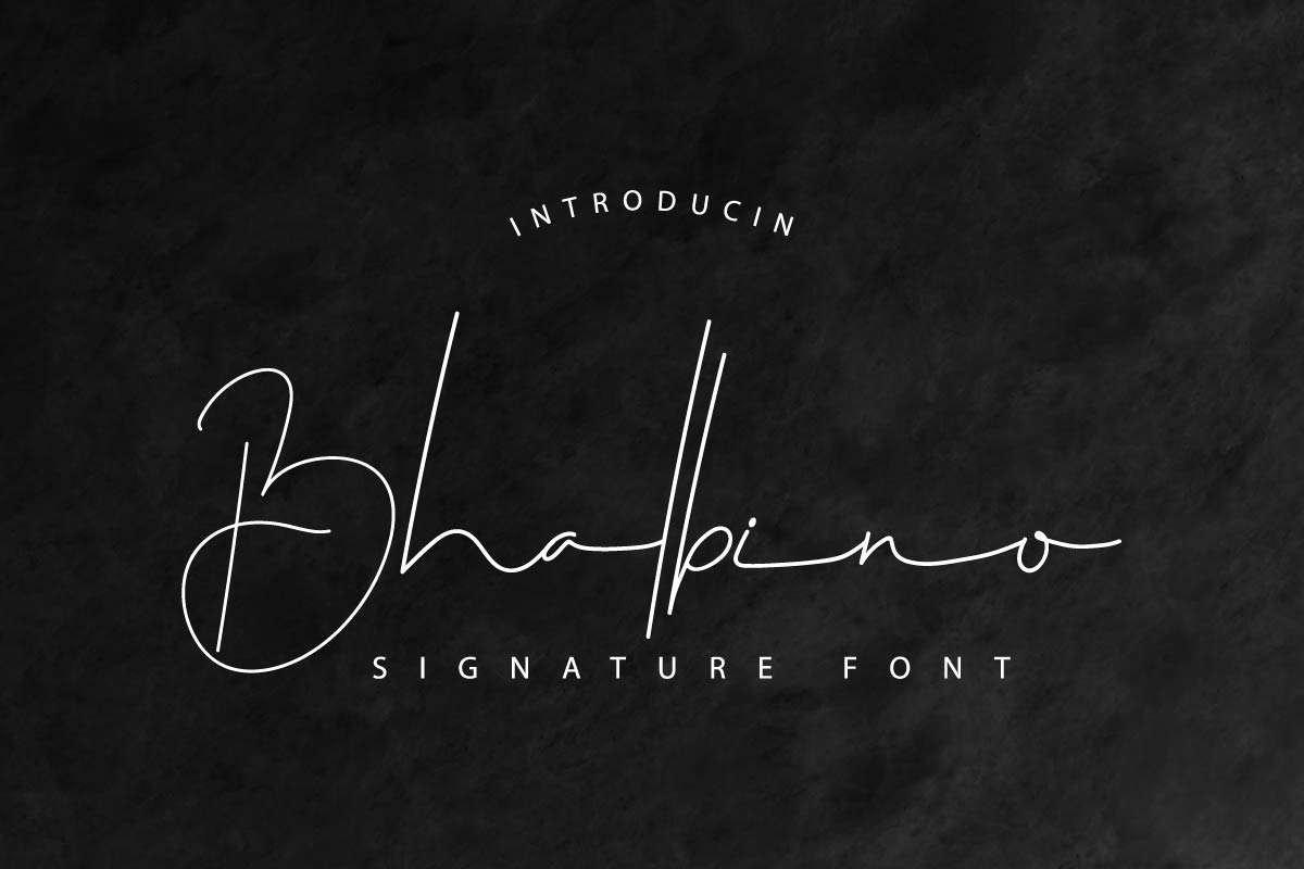 Bhalbino-Font