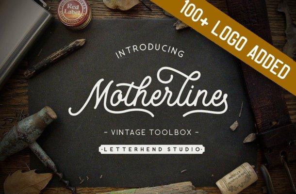 Motherline Script Font