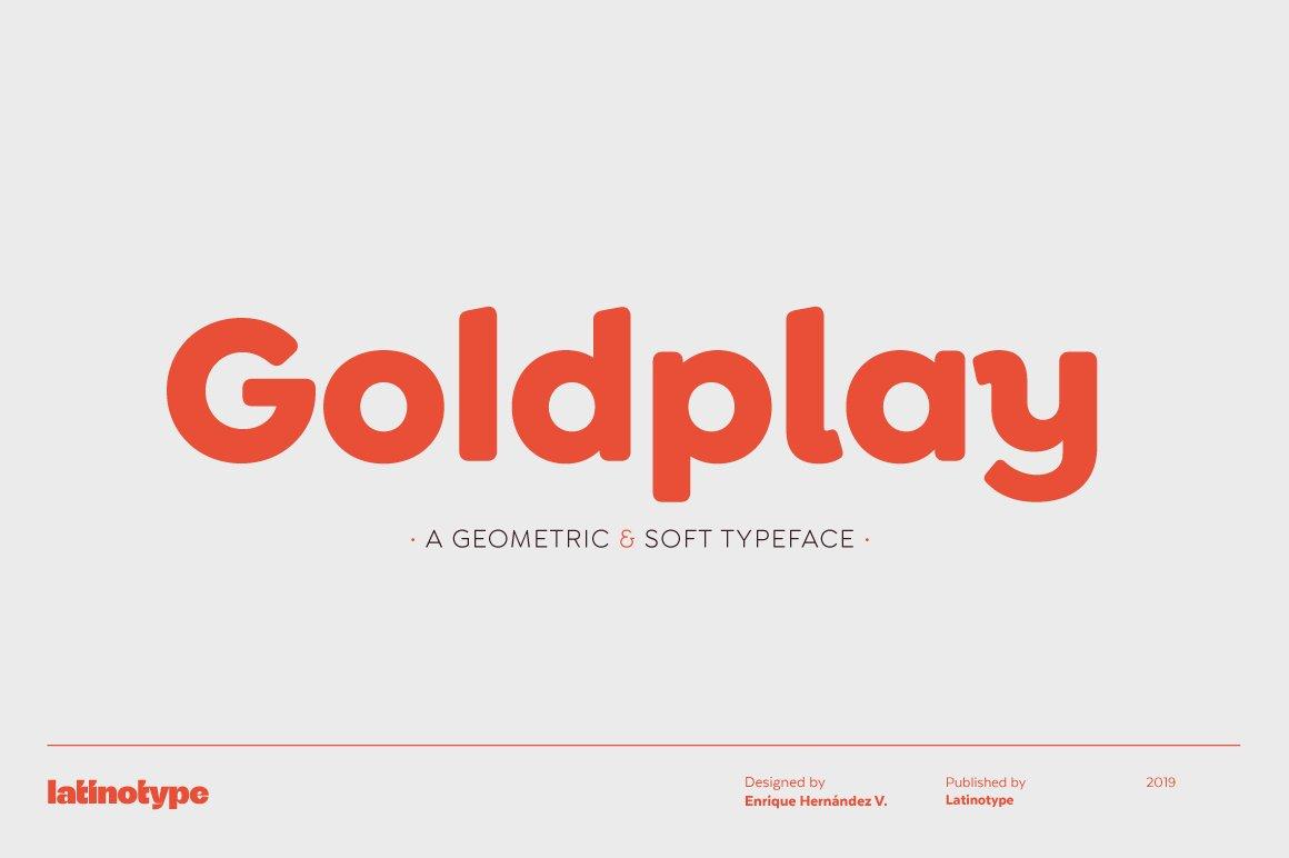 Goldplay-Font